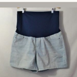 Gap 1969 Sexy Boyfriend Maternity Denim Shorts 33